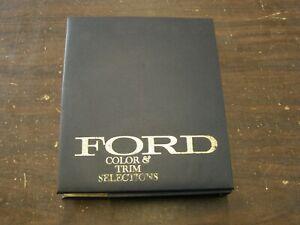 OEM Ford 1969 Dealer's Color + Trim Book Mustang Torino Galaxie LTD Falcon Truck