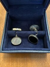 $85 New in Box CHARLES TYRWHITT blue enamel Convertible men/'s CAR cufflinks