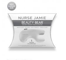 Nurse Jamie Beauty Bear™ Pillowcase Age Defy White Fits New Larger Size Pillow