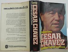 JACQUES LEVY Cesar Chavez Autobiography of La Causa INSCRIBED FIRST EDITION