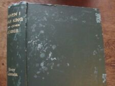 When I Was King - Henry Lawson & Norman Lindsay - Vintage 1905 Australian Poems