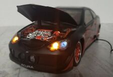 Mattel Hot Wheels 1:18 Scale Car 2004 Acura RSX Remote lights and music