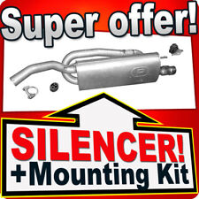 Rear Silencer FIAT BRAVO LANCIA DELTA 1.4 FOR  SPORT SINCE 2007 Exhaust Box NPR