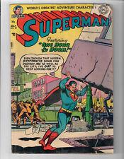 "Superman #89 - Grade 4.0 - Golden Age! 1st Curt Swan ""Superman"" Cover!"