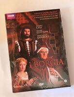 I BORGIA RARO BOX 5 DVD 2009 YAMATO FUORI CATALOGO - SIGILLATO