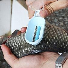 Plastic Fish Scale Remover Scaler Scraper Cleaner Kitchenware Peeler Utensil CN