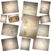 Lot of 24 Vintage Hand Embroidered Table Dresser Scarves Pillowcase Doilies