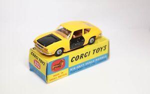 Corgi 332 Lancia Fulvia Sport Zagato In It's Original Box - Rarer Yellow Colour