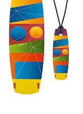 Mini-Board NORTH Kiteboard - Halskette Geschenk für Boarder WB38#29