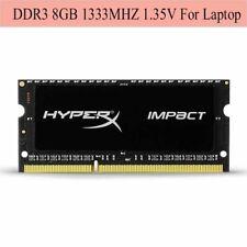Pour Kingston HyperX Impact 8GB 16GB 32GB 1333MHz DDR3L PC3L-10600S Laptop RAM F