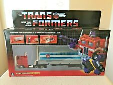 UNBRANDED Transformers G1 Autobots Optimus Prime & Tractor Trailer Action Figure