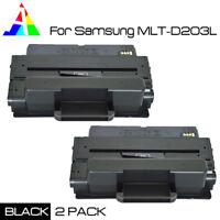 2 PK MLT-D203L Toner for Samsung ProXpress M3320ND M3370FD SL-M3820DW Printer