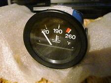 NEW Fiat Spider 2000 Pininfarina 124 Water Temperature US Gauge Veglia Borletti