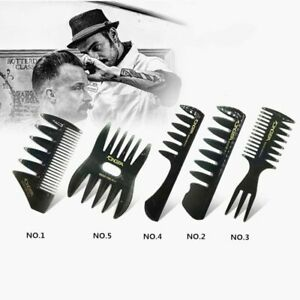 Men Hair Texture Comb Wide Tooth Texturizing Comb Man Oil Head Hair Comb A1