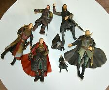 Bundle of 7 Lord Of The Rings Action Figures, Marvel, Lotr, Vgc, 2002