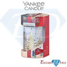 Yankee Gift Set Burner & 4 Tea Light Candles Household Fragrance - Present Idea