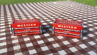 LOT OF 2 VINTAGE WESTERN REPEATING TOY CAPS CAP EMPTY BOXES NOS NEW BOX ONLY
