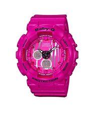 Casio Baby-G * BA120SP-4A Scratch Pattern Pink Anadigi Watch COD PayPal