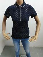 Polo TOMMY HILFIGER DONNA taglia  XS maglia maglietta t-shirt woman cotone 5267