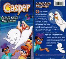 Casper Saves Halloween VHS Video Tape New Greg Alter Lucille Bliss Carl Urbano