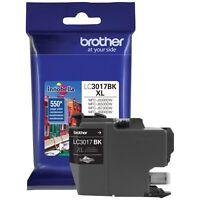 Brother International LC3017BK Blk Hiyld Xl Blk Ink Cart Yld 550pg