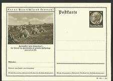 Vintage Postcard- German Hay Field Outside Hermeskeil City, 1930's, Unposted
