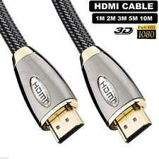 1M High Speed Mini HDMI to HDMI Gold Plated Nylon Braided Jacket Cable Lead