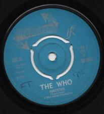 THE WHO substitute*waltz for a pig 1966 UK REACTION  3 PRONG CENTRE.