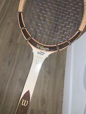 New listing Vintage Chris Evert Champion Wood Wilson Tennis Racquet | 4 1/2 Speed Flex