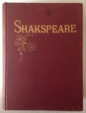 Rare 1800s The Complete Works of William Shakespeare Play Note Biography Book