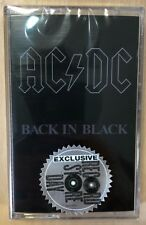 "AC/DC ""Back In Black"" Cassette MC RSD 2018 New !!!  Limited 2,500"