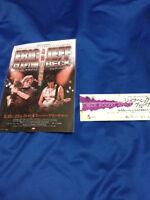 Eric Clapton/Jeff Beck Japan tour flyer 2009&Beck,Bogert&Appice Ticket stub