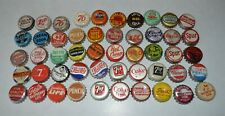 50 different Cork backed Pop bottle caps