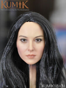 GACTOYS 1//6 GC039 Asia Female Head Carving Sculpt 12/'/' Phicen Figure Head Toy