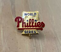 VINTAGE 1990s MLB PHILADELPHIA PHILLIES WORLD SERIES BASEBALL PRESS PIN -BALFOUR