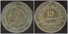 FRANCE   FRANCIA    10 centimes ceres 1897 A  torche  (3)