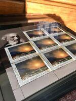 Ukraine Europe Post Stamps. Ivazovski, Yalta. MNH Condition. 1 Block 8 Stamps.