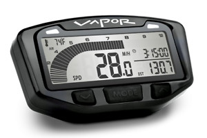 Trail Tech YZ250F WR250F '95-19 Vapor Stealth Black Tach Tachometer Speedometer