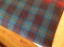 Woven Blanket Throw 100% Wool Reversible Blanket Throw Multi Color India