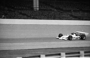 Jerry Grant #48 / Peter Revson #15 / Salt  Walther #77 - 1973 Indy 500 Negatives