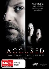 Accused (Anklaget) (DVD, 2007) // subtitles // category stickers on sleeve