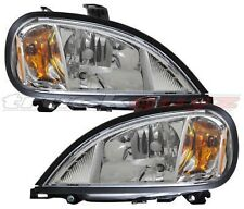 Head Lights OE Type PAIR Lamps 2004-2011 Freightliner Columbia Commercial Truck