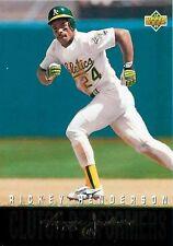 1993 Upper Deck Rickey Henderson #R12 Baseball Card