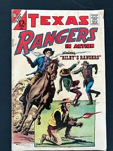 TEXAS RANGERS IN ACTION #60 CHARLTON COMICS 1967 VG/FN