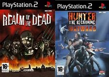 realm of the dead & hunter the reckoning wayward   ps2 pal