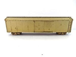 HO Vintage All Brass 50' Wagon Top Sliding Door Box Car Lambert? No Reserve (888