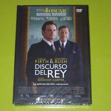 DVD.- EL DISCURSO DEL REY - COLIN FIRTH - GEOFFREY RUSH - PRECINTADA