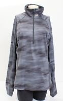 Under Armour Coldgear Gray Printed Cozy 1/2 Zip Long Sleeve Shirt Women's NWT