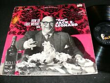 How To Lose Weight with FAT JACK LEONARD Comedy LP 1964 Dieting Jokes FUN COVER