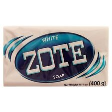 WHITE ZOTE SOAP 400 g/ 14.1oz BAR For Cleaning Laundry Detergent Whitening Power